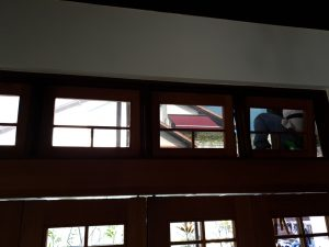 Top Hung Panel- Installation